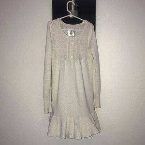 Justice Girl Long Sweater Dress